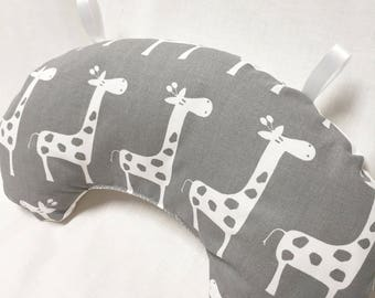 Baby Pillow, Tummy Time Pillow, Play Mat Pillow, Baby Activity Mat, Baby Play Mat, Nursery Pillow, Baby Accessories, Infant Pillow, Giraffes
