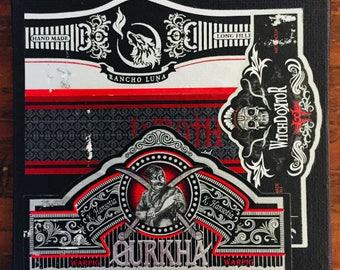 2017 Cigar Band Collage Coaster: Rancho Luna's Wrath of the Warpig Witchdoktor