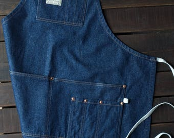 American Denim Apron - Made in U.S.A.