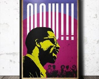 Eldridge Cleaver Black Panther Political Art Poster