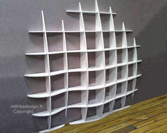 Wall fixings invisible wave design library
