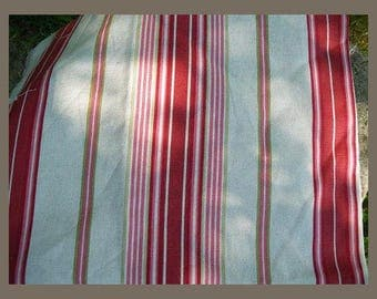 linen stripes for your home decoration 280 cm x 100 cm