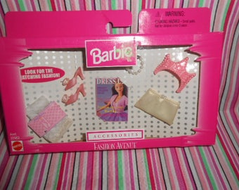 Barbie Accessories Fashion Avenue, Sealed in Box, Vintage, Dress Up, Crown