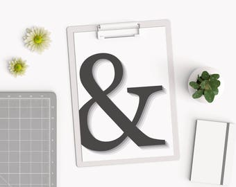 office warming gifts. ampersand print u0026 poster black and white office wall art monochrome warming gifts
