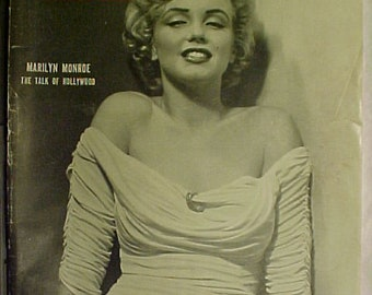 April 7, 1952 LIFE Magazine with Marilyn Monroe on the Cover has 172 pages of ads and articles