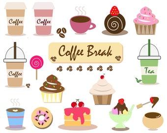 Coffee Break Clip Art