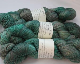 Sherwood BooMer sock yarn merino/bamboo fingering weight yarn