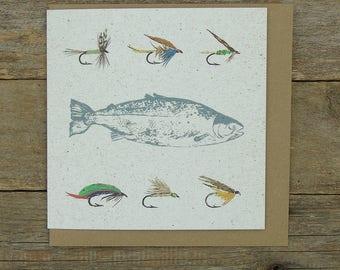Fly Fishing Card