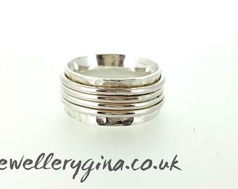 Silver Spinning Ring