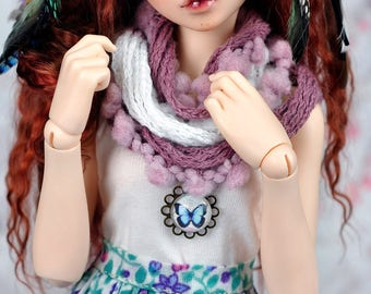 Knit scarf for msd/minifee/Different colors