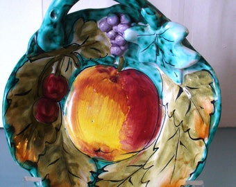 Made in Italy  Majolica Ceramic Dish