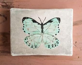 """Mini Butterfly. 3""""x4"""""""