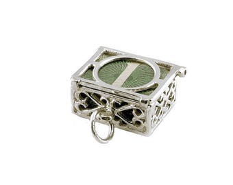 Sterling Silver Opening Mad Money 60's 1.00 Note Charm For Bracelets