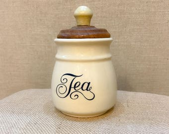 Vintage Tea Canister/Holder