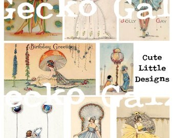 Cute Little Design Collage Sheet