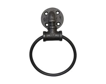 Industrial Towel Rack Ring
