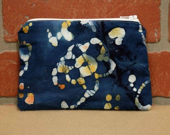 One Snack Sack, Batik, Reusable Lunch Bags, Waste-Free Lunch, Machine Washable, Back to School, School Lunch, item #SS56