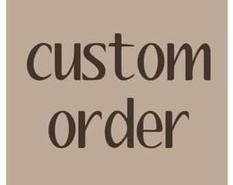 Custom Order For Jayme - Wedding Booklets