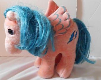 1984 Hasbro Softies MY LITTLE PONY plush Pegasus