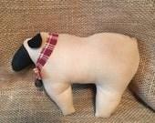 Primitive Sheep Shelf sitter, Bowl Filler