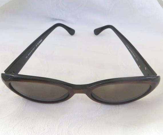 prezzo più basso 0ceef 4a6bb Vintage Fendi Sunglasses, Fendi Occhiali, Women's Sunglasses, Italy Blonde  / Black, FS 190, 135, Authentic Designer Sunglasses