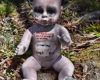 Ouija Baby (OOAK Horror doll)