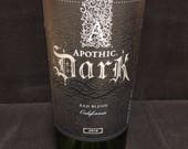 "Apothic ""Dark"" scented wine bottle candle - made to order"
