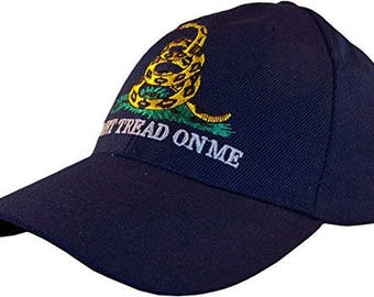 Gadsden Don't Tread on Me Embroidered Cap Hat