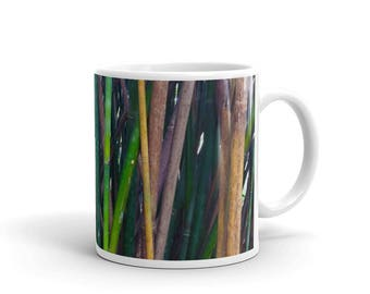 Bamboo Printed Ceramic Mug