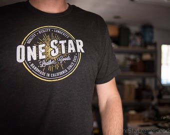 One Star Leather Goods T-Shirt