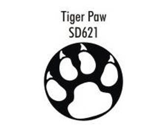 Stock Tiger Paw  (SD621)