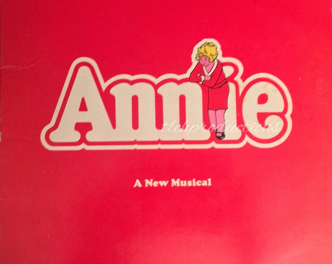 Vintage Annie 1977 Original Broadway Cast Album Vinyl
