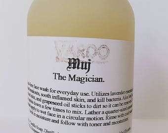 MUJ: The Magician. Face wash for sensitive skin