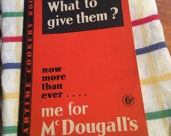 Mc Dougall's 1940's War time cookery book