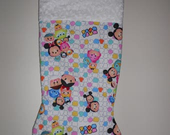 Tsum Tsum Christmas stocking