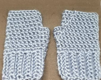 Children's Fingerless Gloves