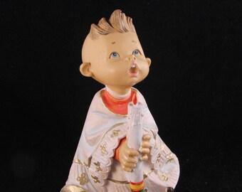 Fontanini altar boy