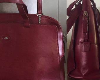 Vintage Leather Handbag by The Bridge ... 10% Off Coupon SAVE10 ... Free Shipping
