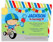 Bicycle Invitation, Bicycle Invitations, Bicycle Birthday, Bicycle Party, Bike Invitations, Bicycle Invite, Bike Birthday Invite, Bike | 526