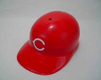 Cincinnati Reds Souvenir Batting Helmet, Big Red Machine, 1969, Adjustable Helmet