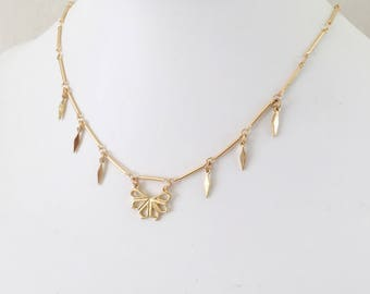 Winter - Silver, Gold or Rose Gold Necklace