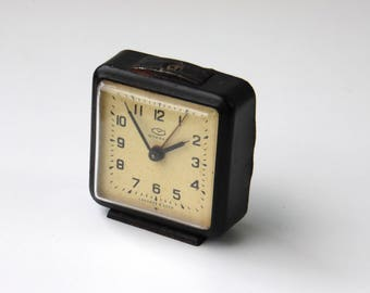 Vintage Mechanical Alarm Clock / Made in CCCP