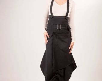 Black cotton skirt from Chilia Triarca