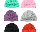 Baby Turban, Baby Hat, Baby Beanie, Baby Boy, Baby Girl, Infant Hat, Headband, Newborn Winter Warm Beanie, Cotton Wrapped Cap, Turban Hat