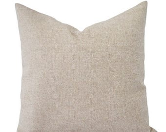 15 off sale two decorative throw pillow covers burlap pillows beige pillows