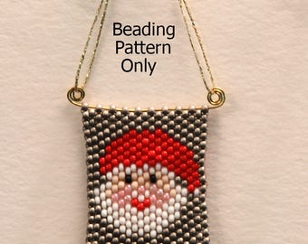 Peyote Stitch Beading Patterns for Christmas - Set 1