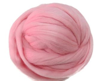 SALE Merino / Silk  Roving, (Powder)