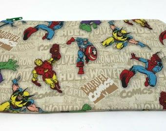 Zipper pouch Heros