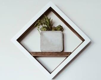 NOTAN Diamond Shelf / Square Shelf / Box Shelf / Floating Shelf / Shadow Box