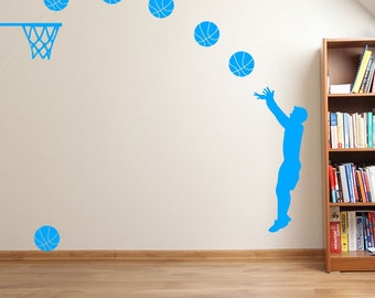 Basketball Player Sports Slam Dunk A38